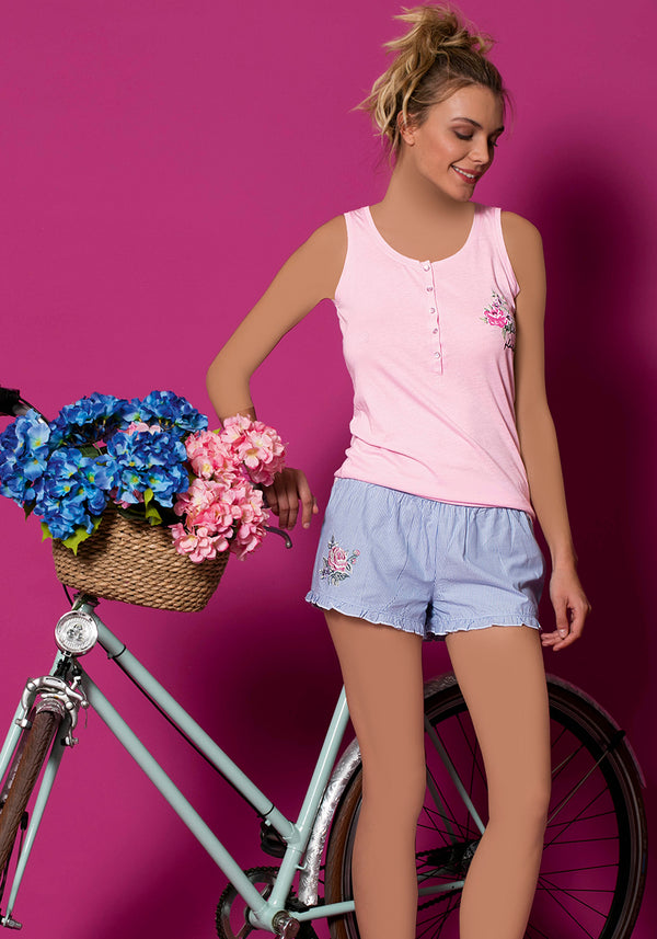 S&L Bicycle Short Set - Layla Collection