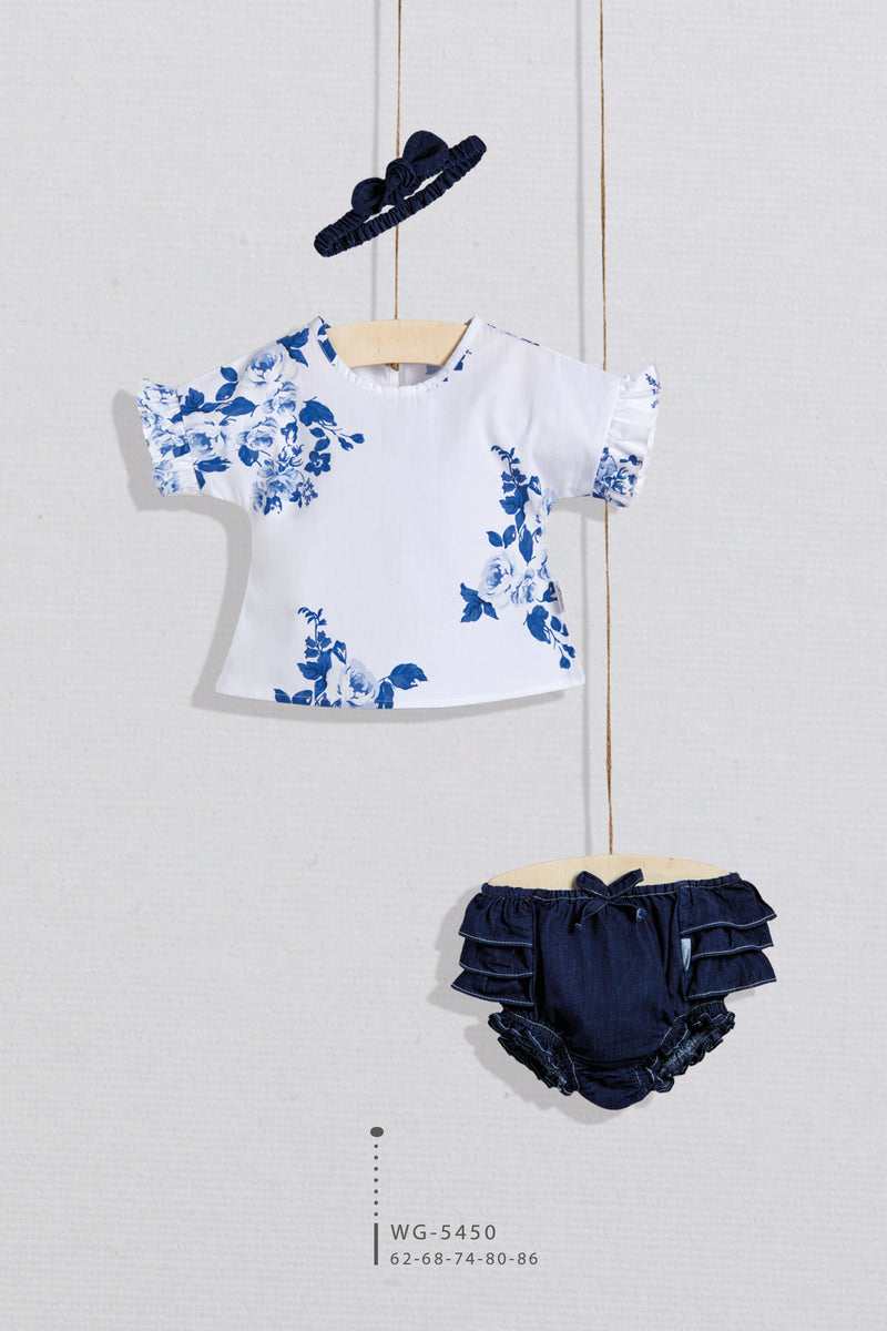BBY Jeans Short Set - Layla Collection