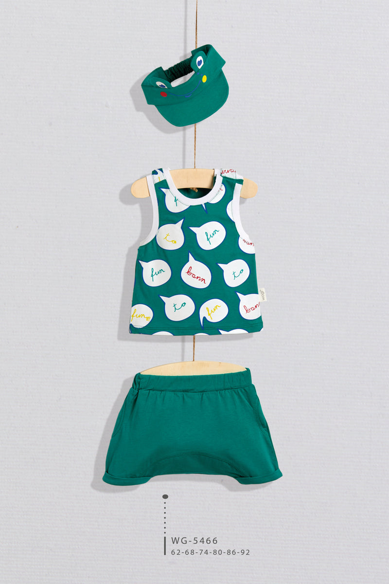 BBY Frog Short Set - Layla Collection