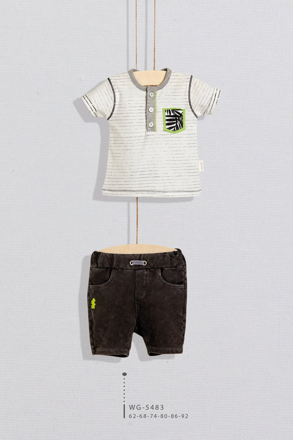 BBY Safari Short Set