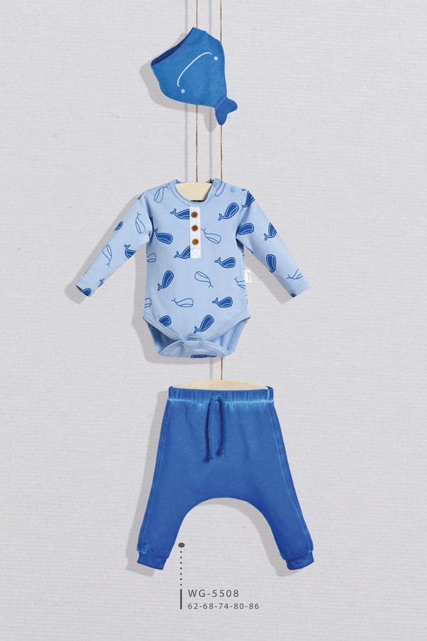 BBY Shark Pajama - Layla Collection