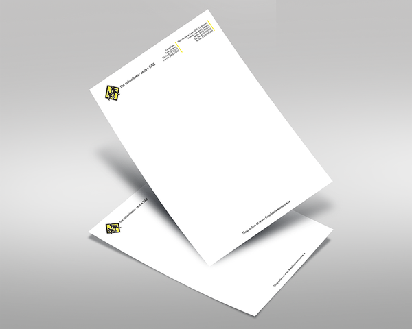 A4 Headed Paper (letterhead)