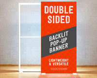 Backlit Pop-Up Banner (double sided)