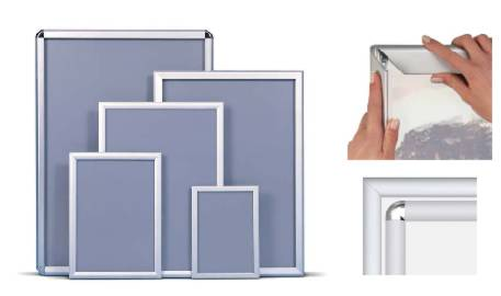 Illuminated Snap Frames (single sided, 7 sizes)