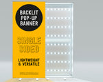 Backlit Pop-Up Banner (single sided)