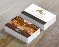 Business Cards (Matte Laminated 85x55mm)