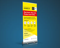Covid 19 Pull-up Banner