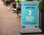 Windmaster Pavement Signs (3 Sizes)