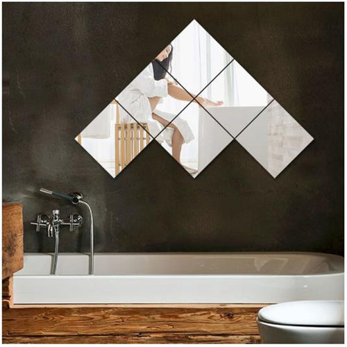 Acrylic Square Wall stickers Mirror
