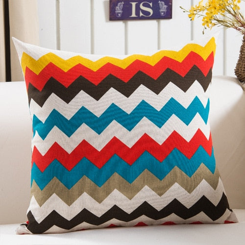 Colorful/Geometrical Cushion