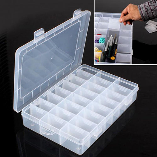 24 Compartment Jewelry Storage