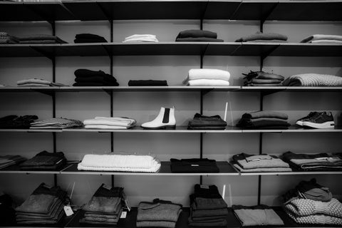 Grayscale Wardrobe Photo