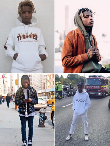 four-different-images-of-ian-connor-wearing-hoodies-jpg