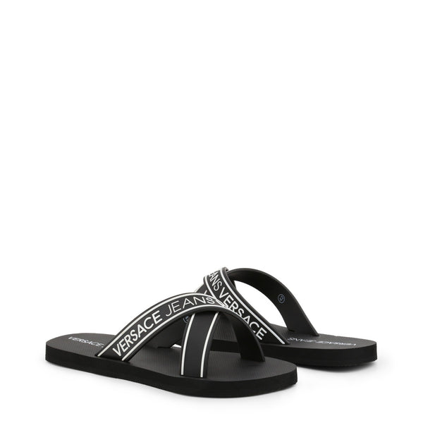Versace Jeans - Flipflops - men- black - jpeg