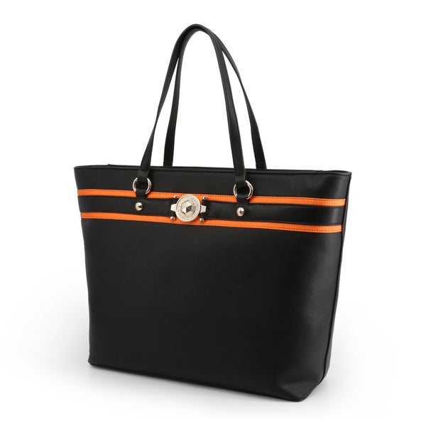 Versace-Shopping Bag-women-Black-jpeg