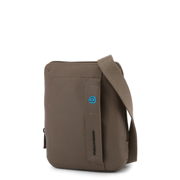 Piquadro-crossbody-bag-brown-front-view-jpeg