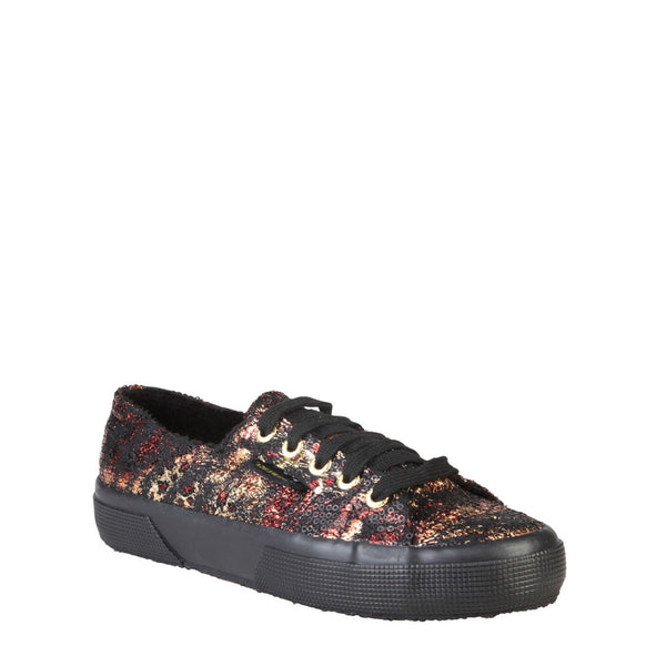 Superga - Animal Print Blackgold