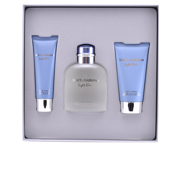 Light Blue Pour Homme 3 Pieces Gift Set for Men