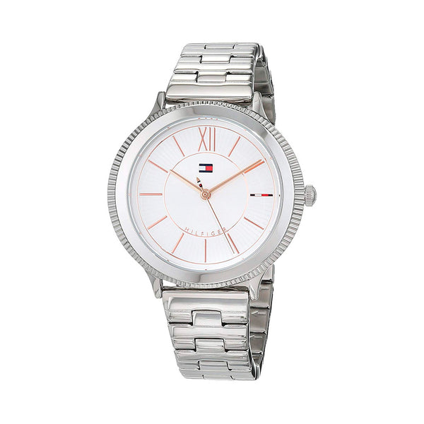 Tommy Hilfiger - TH White&Silver W