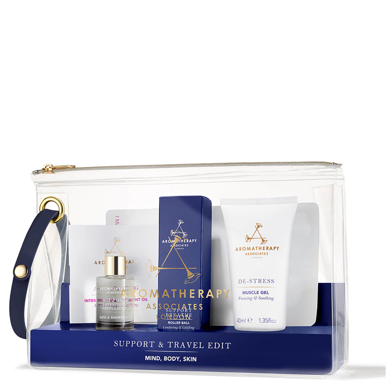 Support & Travel Edit - Aromatherapy Associates - Beauty Junkies Store