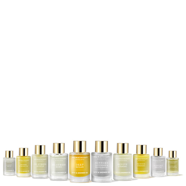 Aromatherapy Associates - Ultimate Bath & Shower Oil Collection - Beauty Junkies Store