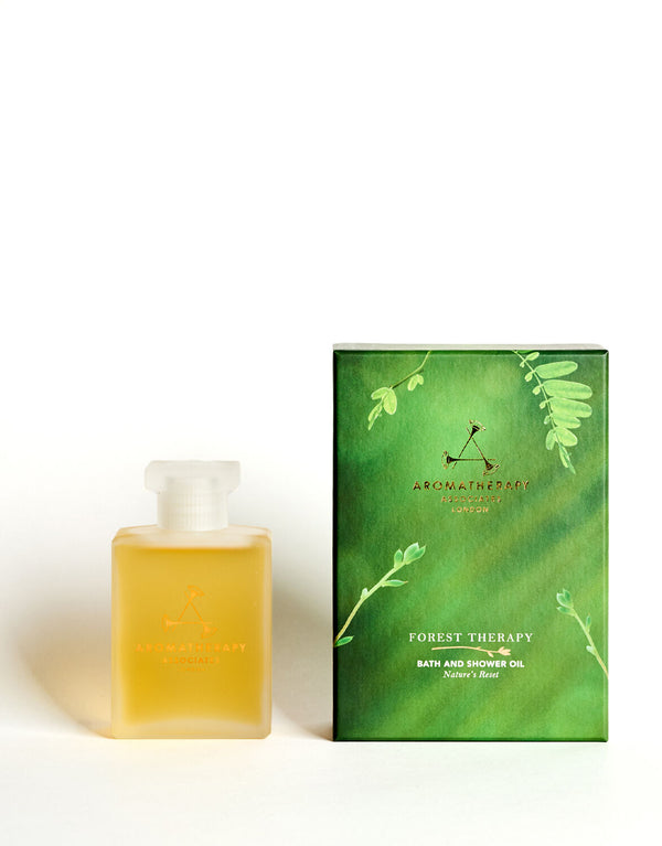 Forest Therapy Bath & Shower Oil - Aromatherapy Associates - Beauty Junkies Store
