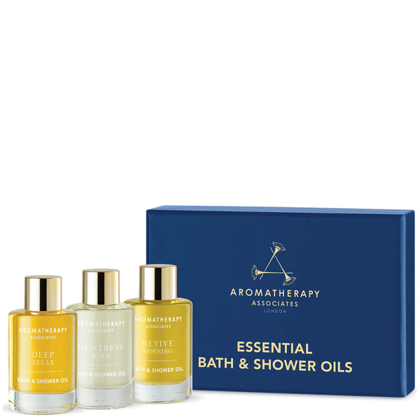 Essential Bath & Shower Oils (3 producten) - Aromatherapy Associates - Beauty Junkies Store