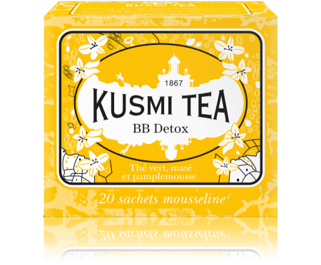 Kusmi Tea - BB Detox thee - 20 Theezakjes - Beauty Junkies Store