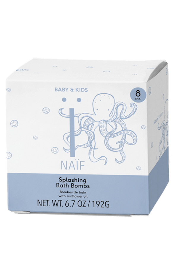 Naïf - Splashing Bath Bombs -  Bad Bruistabletten voor kids - Beauty Junkies Store
