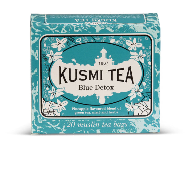 Kusmi tea - Bleu detox thee - 2- theezakjes - Beauty Junkies Store