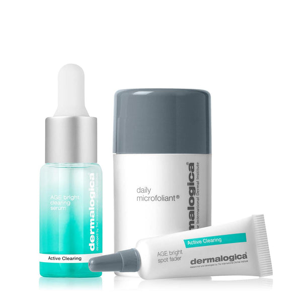 Dermalogica - Clear + Brighten Skin Kit - Tegen onzuiverheden - Beauty Junkies Store