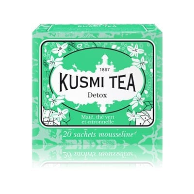 Kusmi Tea Detox thee 20 zakjes - Beauty Junkies Store