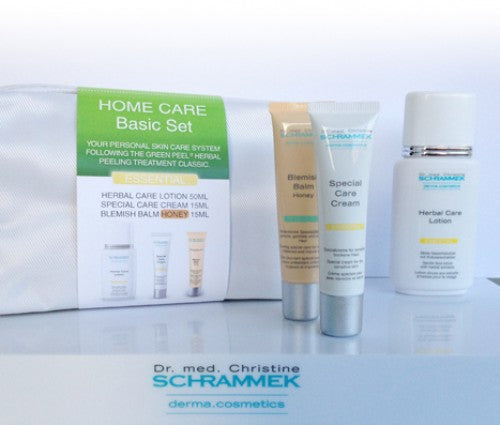 Dr Schrammek - Home Care Basic Set - Travelsize producten - Normale en vette huid - Beauty Junkies Store