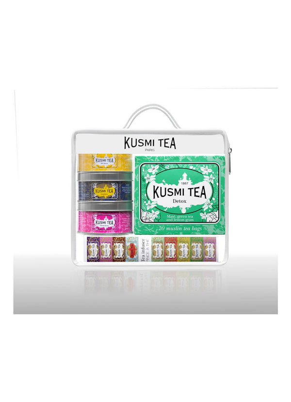 Kusmi Tea - Travel Kit Theeset met thee-ei - Beauty Junkies Store