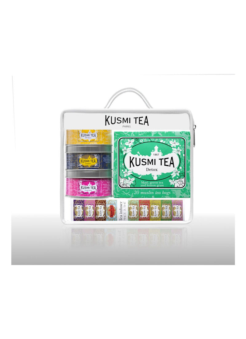 Travel Kit theeset met thee-ei - Kusmi tea - Beauty Junkies Store
