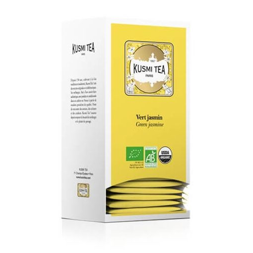 Kusmi Tea- Jasmin Green Tea - 25 theezakjes - Beauty Junkies Store