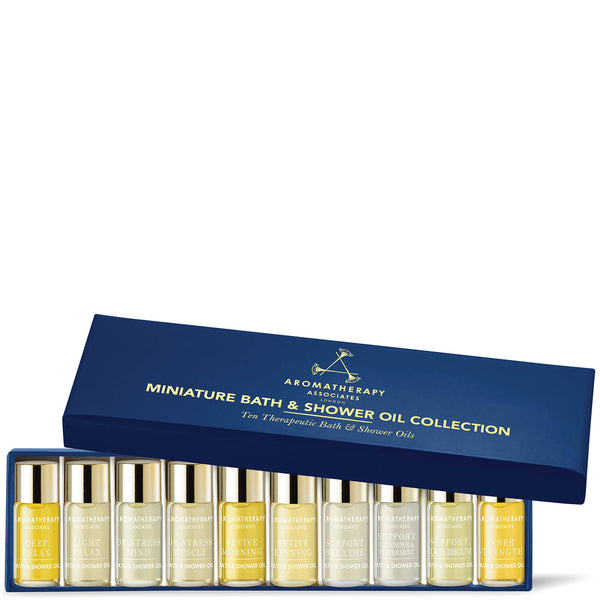 Miniature Bath & Shower Oil Collection - Aromatherapy Associates - Beauty Junkies Store