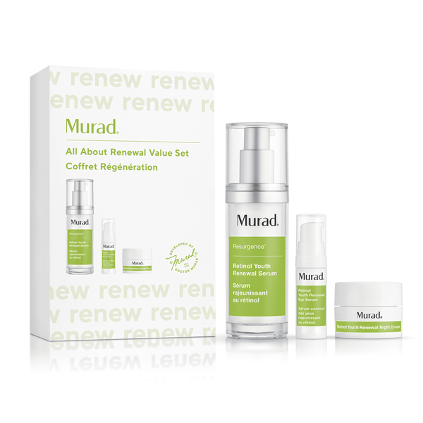 Murad - All About Renewal Retinol Value Set - Beauty Junkies Store