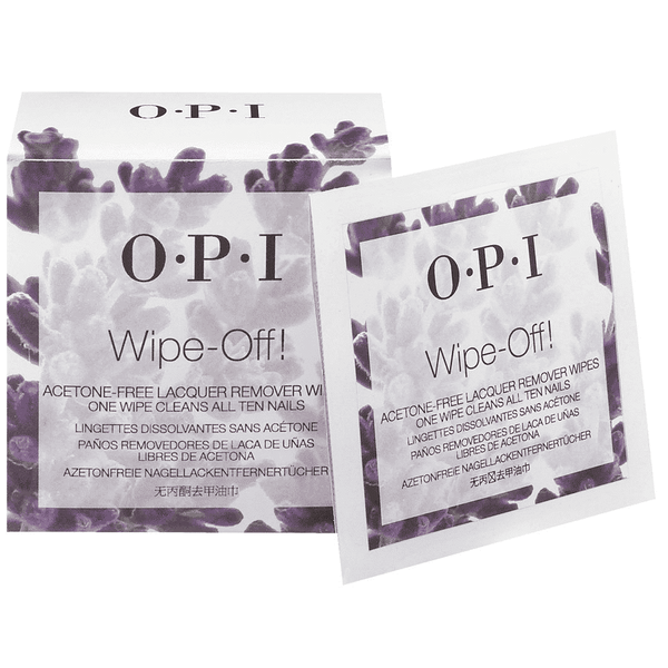 OPI - Wipe-Off! Nagellakremover Wipes - Beauty Junkies Store