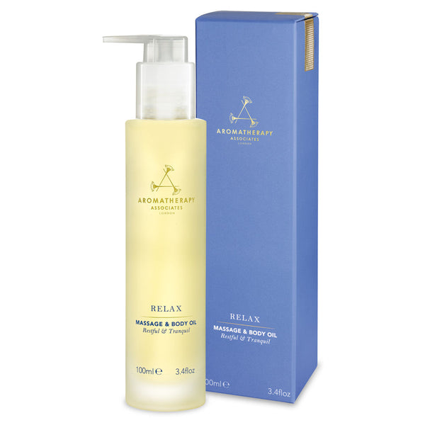 Aromatherapy Associates - Relax Body Oil - Beauty Junkies Store