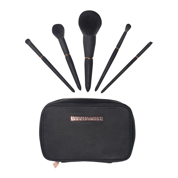 Jet Set  Make Up Brush Kit - Youngblood - Beauty Junkies Store