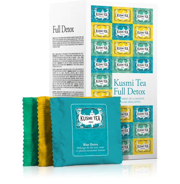 Kusmi Tea - Full Detox - Beauty Junkies Store