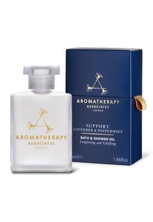 Aromatherapy Associates - Support Lavender & Peppermint Bath & Shower Oil - Beauty Junkies Store