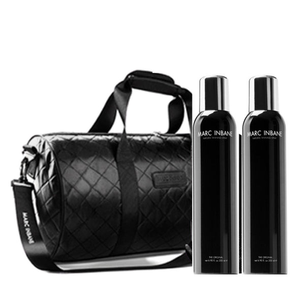 Marc Inbane - 2 stuks  Natural Tanning Spray Duo met Travelbag - Beauty Junkies Store