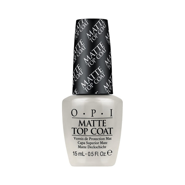 OPI - Matte Top Coat - Matte afwerking voor nagellak - Beauty Junkies Store