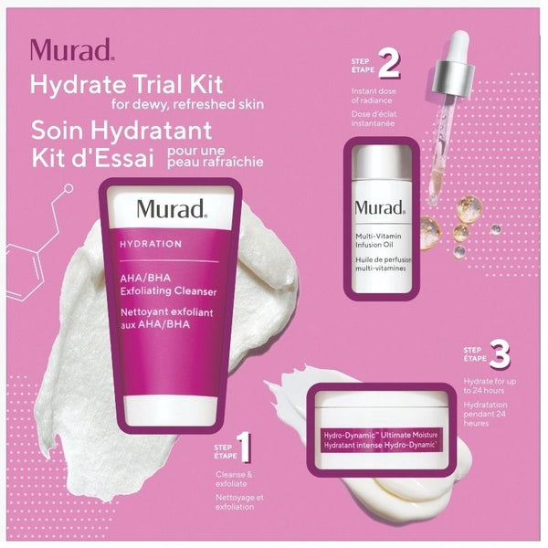 Murad - Hydrate Trial Kit  - Kennismakingsset - Beauty Junkies Store