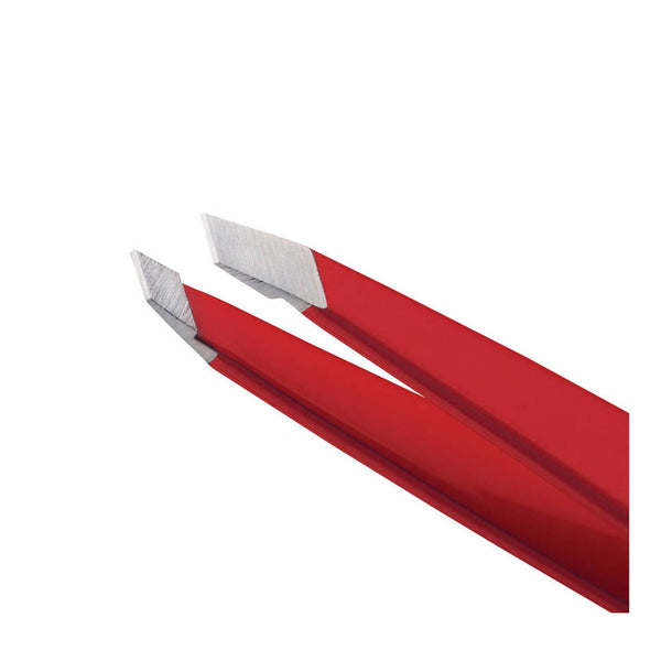 Slant Tweezer Signature Red - Beauty Junkies Store