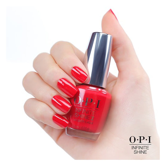 Unrepentantly Red - OPI Infinite Shine