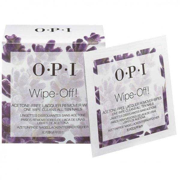 OPI - Wipe-Off! - Nagellakremover Wipes - Beauty Junkies Store