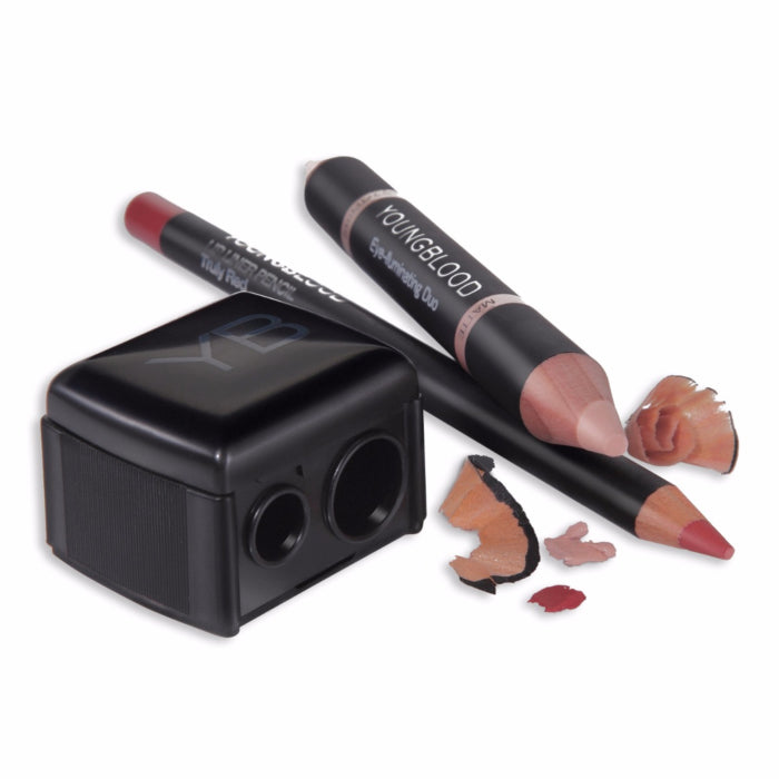 Duo Pencil Sharpener - Youngblood - Beauty Junkies Store